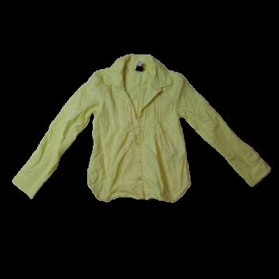128-134-es sárga hosszú ujjú blúz - GAP