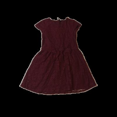 140-es mályvaszínű csipke ruha - Next