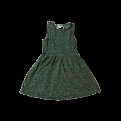 116-os zöld-piros mintás ujjatlan ruha - C&A