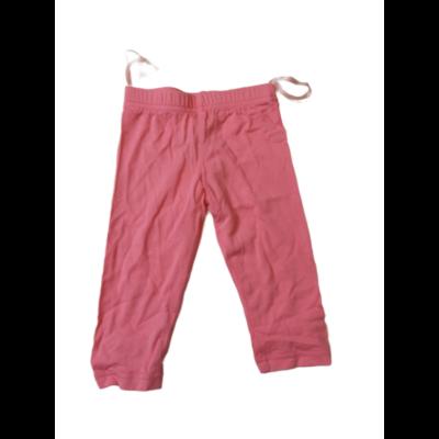 92-98-as rózsaszín leggings - ÚJ