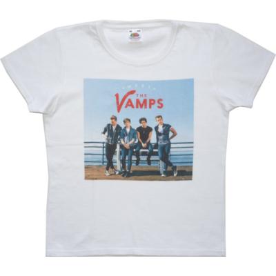 164-es fehér lány póló - The Vamps