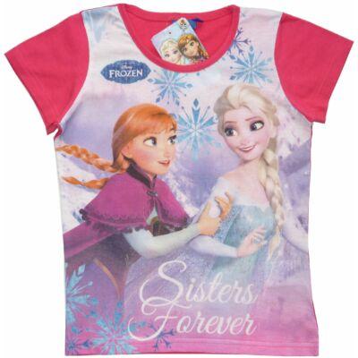 134-es pink póló - Frozen. Jégvarázs - ÚJ