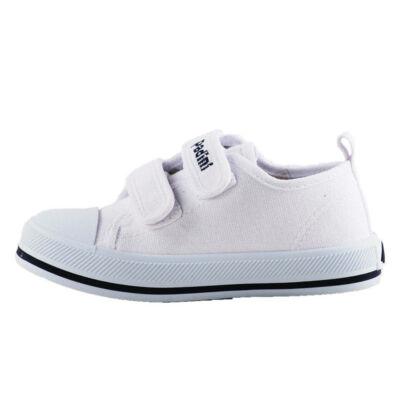 25-ös fehér tépőzáras vászoncipő, tornacipő - Padini - ÚJ