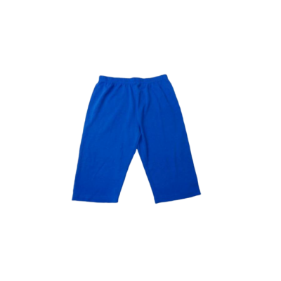 146-152-es kék pamutshort lánynak - ÚJ