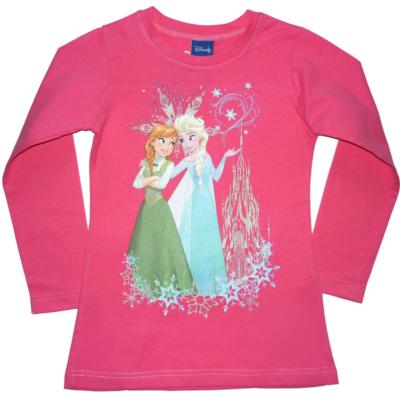 116-os pink tunika - Frozen, Jégvarázs - ÚJ