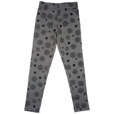 116-os szürke körmintás leggings - ÚJ