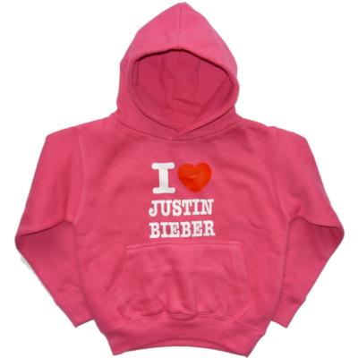 104-es rózsaszín feliratos kapucnis pulóver - Hoodies