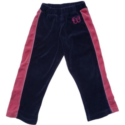 104-es kék-rózsaszín plüss nadrág - Kute