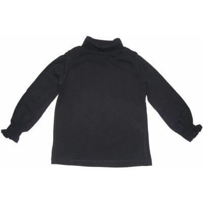 98-as fekete pamutfelső - Zara