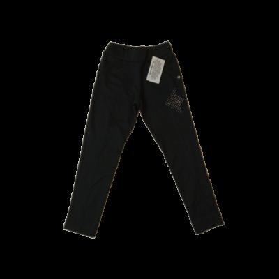 122-es fekete leggings jellegű pamutnadrág - ÚJ