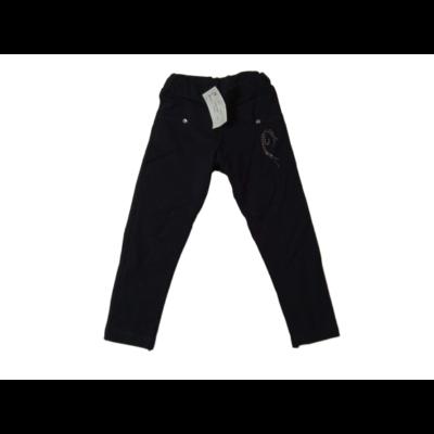 116-os fekete leggings jellegű pamutnadrág - ÚJ
