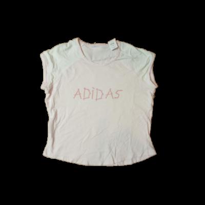 158-as rózsaszín feliratos póló - Adidas