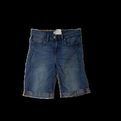 158-164-es kék lány farmer térdnadrág - H&M