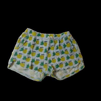 140-es kék ananászos pamut short - Zara