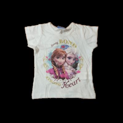 92-es fehér lány póló - Frozen, Jégvarázs - ÚJ