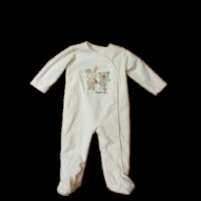 74-es fehér polár állatos kislány rugi