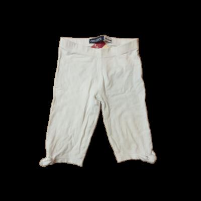 98-104-es fehér térdig érő leggings - Okaidi