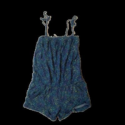 146-os kék virágos playsuit - H&M