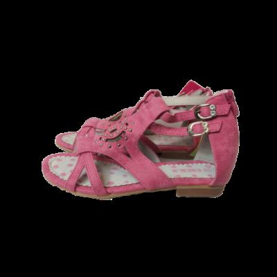 35-ös rózsaszín saru jellegű szandál - ÚJ
