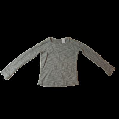 140-146-os szürke vékony kötött pulóver lánynak - Athmosphere