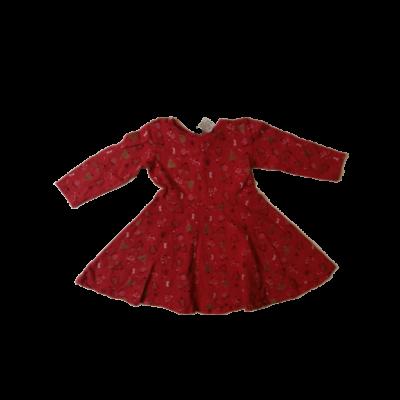 104-es piros állatkás pamutruha - Little Kids