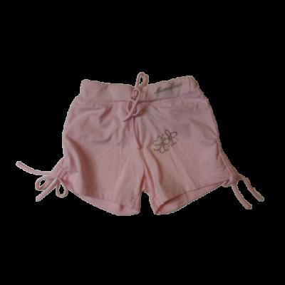 128-as rózsaszín strasszos pamutshort