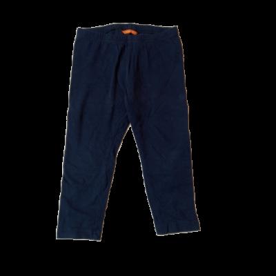 86-92-es kék leggings - Hema
