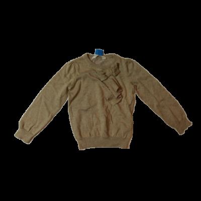 98-104-es arany színű vékony kötött elegáns pulóver - H&M