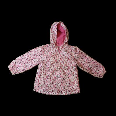 104-es rózsaszín virágos átmeneti kabát - Next