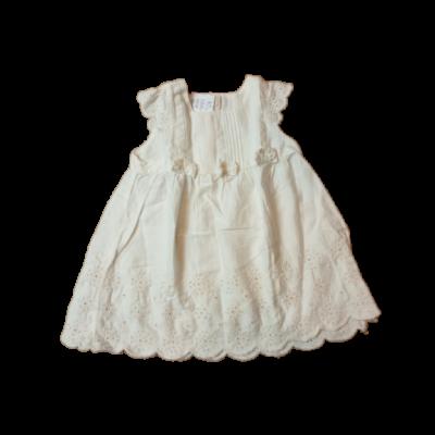 80-as fehér madeirás ruha - H&M