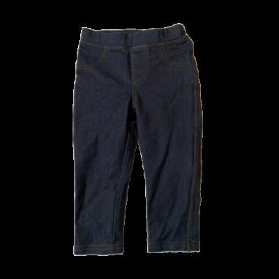 86-os farmer hatású kék leggings jellegű nadrág