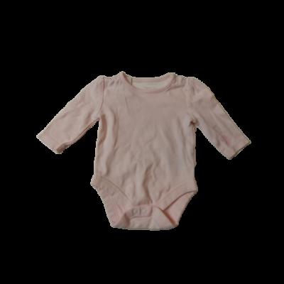 62-es rózsaszín hosszúujjú body - Mothercare
