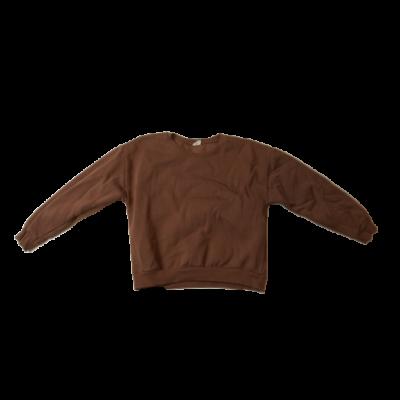 140-es barna lány pulóver - Zara