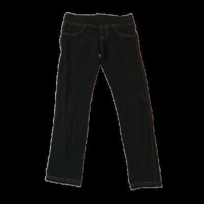 128-as fekete farmer hatású leggings