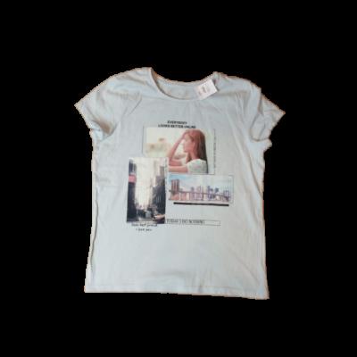 146-os kék városos lány póló