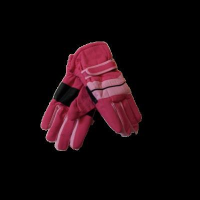 8-10 évesre pink-rózsaszín síkesztyű - ÚJ
