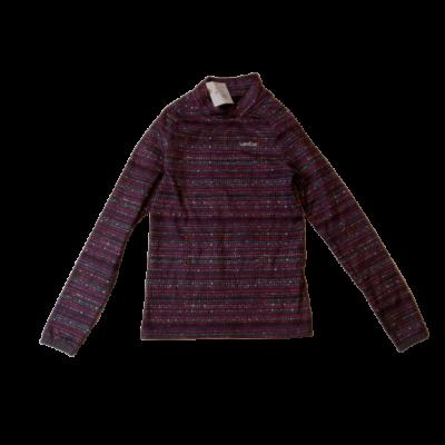 158-as lila alapon színes pöttyös aláöltözet - Wedze, Decathlon