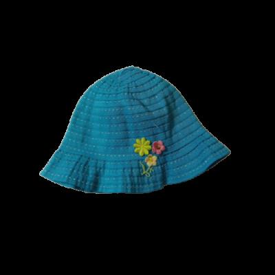 40-42 cm-es fejre kék virágos nyári kalap