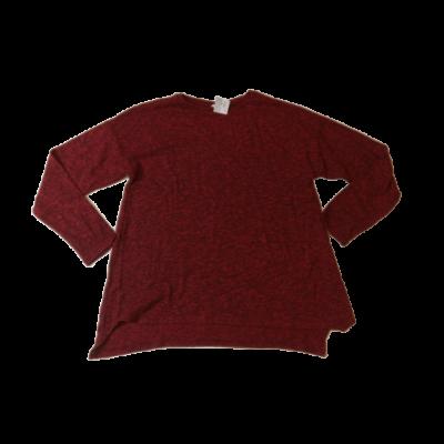 164-es bordó vékonyabb pulóver lánynak - Zara