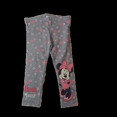 74-es szürke leggings - Minnie Egér - ÚJ