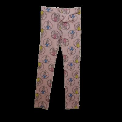 110-es rózsaszín hercegnős leggings - ÚJ