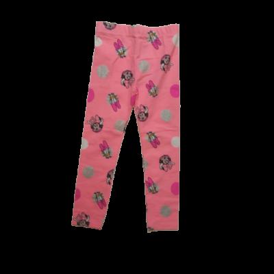 134-es rózsaszín leggings - Minnie Egér - ÚJ