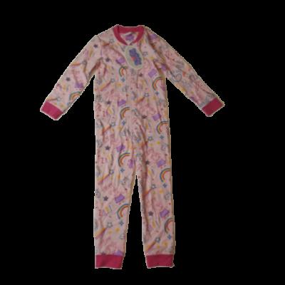 92-es rózsaszín kezeslábas pizsama - Peppa Pig - ÚJ