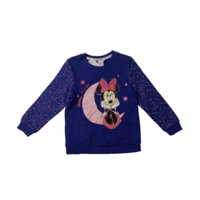 98-as lila pulóver - Minnie Egér - ÚJ