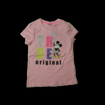 134-140-es rózsaszín póló - Minnie Egér - ÚJ
