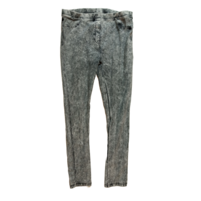 164-es szürke leggings hatású farmernadrág - Zara