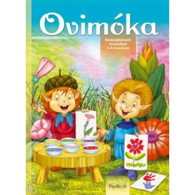 Ovimóka - Készségfejlesztő munkafüzet 4-5 éveseknek - ÚJ