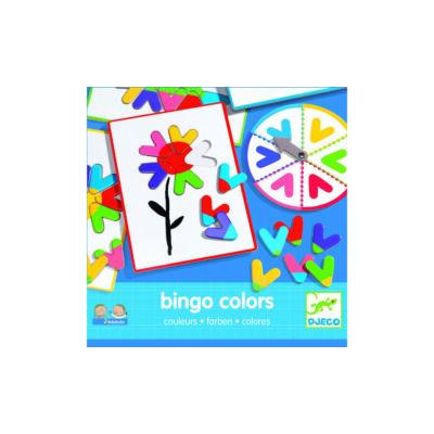 Bingo Colors - Színkirakó - Djeco