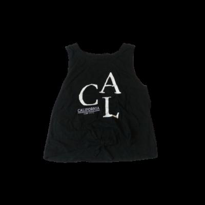 158-as fekete feliratos lány póló - Pepperts
