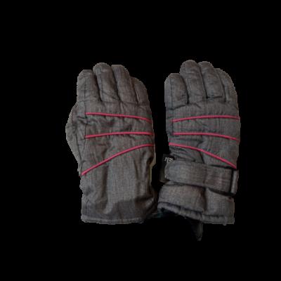 5-8 évesre szürke-pink anorák-kesztyű, síkesztyű - Thinsulate - Crivit